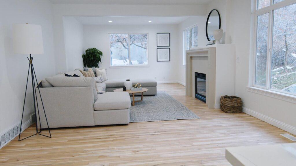 DreamCast Bowen Mantel on Netflix Dream Home Makeover