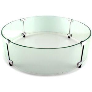 Round Glass Barrier
