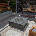 Backyard Bar Wars Bloq Concrete Fire Pit